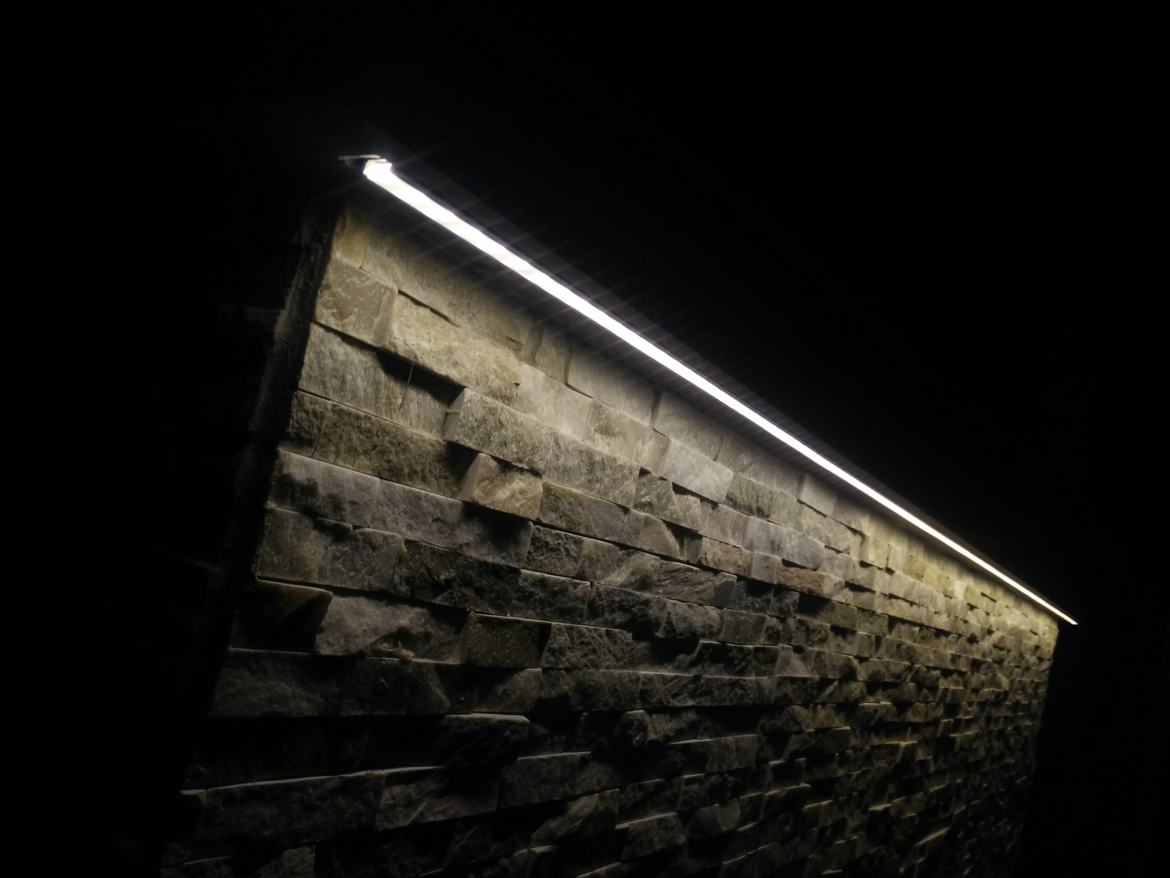 Steinbeleuchtung